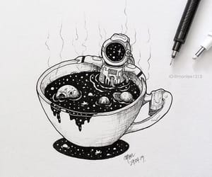 space, art, and cup image