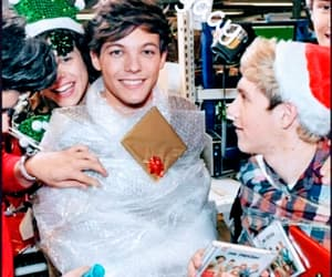 christmas, niall horan, and louis tomlinson image