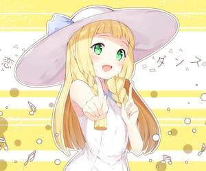 anime, kawaii, and yellow image
