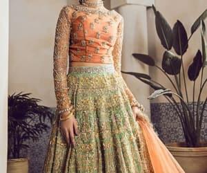 bridal, dress, and fashion image