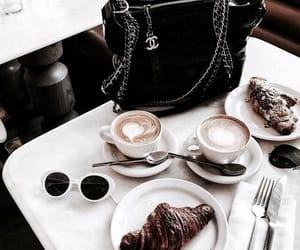 bag, food, and black bag image