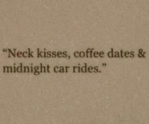 coffee, kisses, and date image
