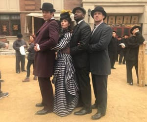 cast, tv show, and timeless image