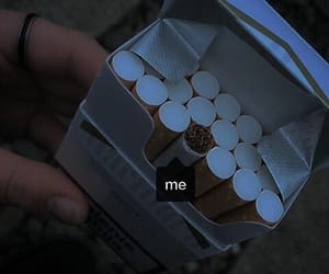 grunge, cigarette, and me image