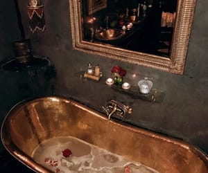 gold, luxury, and bath image