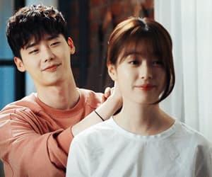 gif, jongjoo couple, and two worlds image