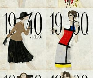 fashion, old days, and vintage image