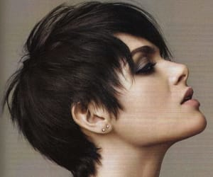 hair, pixie, and short image