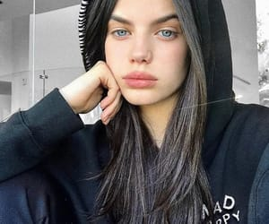 beauty, model, and sonia ben ammar image