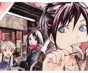 anime girl, manga, and official art image