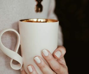 mug, nails, and off white image