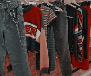 aesthetic, clothes, and vintage image