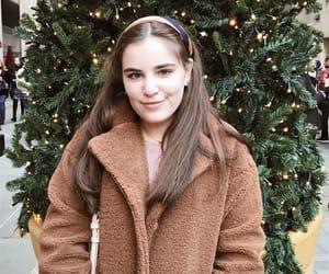 brown, christmas, and coat image