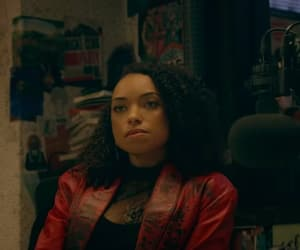 logan browning, dear white people, and sam white image