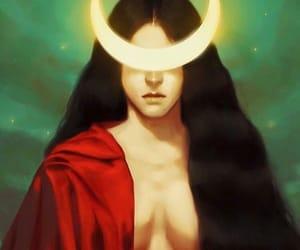 art, fantasy, and goddess image