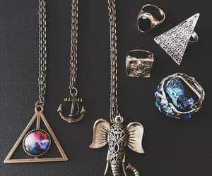 necklace, accessories, and elephant image