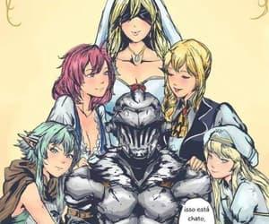 anime, goblin, and harem image
