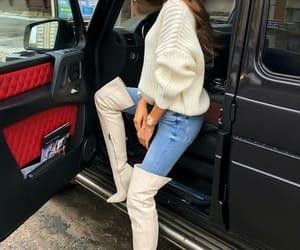 fashion, fashionable, and lady image