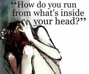 depression, desperate, and mental health image