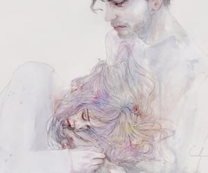 watercolour, silvia pelissero, and agnes cecile image