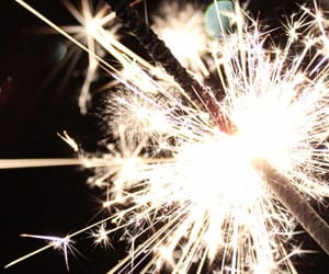 light, new year, and fireworks image