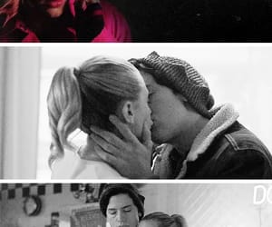 Betty, jughead, and riverdale image