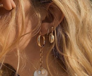 fashion, earrings, and aesthetic image