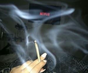 weed and netflix image