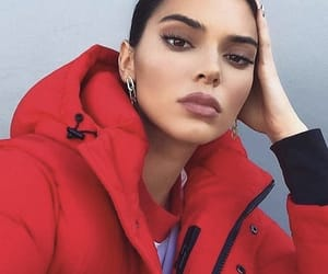 kendall jenner, red, and jenner image