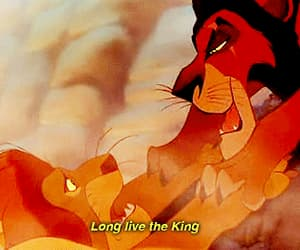 disney, lion king, and scar image