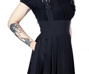 alternative, clothing, and tattoo image