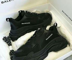 Balenciaga, black, and fashion image