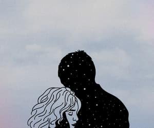 couple, edit, and hug image