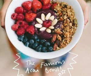 acai, bowl, and food image