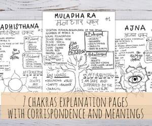 affirmation, etsy, and chakra healing image