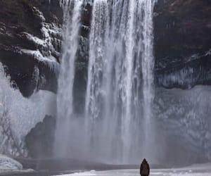allah, eau, and cascade image
