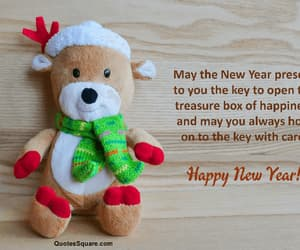 happy new year, quotes, and wishes image