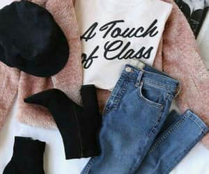 ankleboots, jeans, and cardigans image