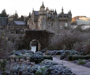 aesthetic, castle, and garden image