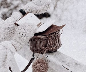 mittens and winter image