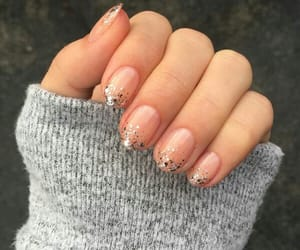 glitters, nails, and nailart image