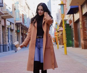 brunette, fashion, and streetstyle image