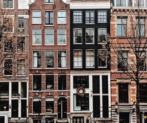 aesthetic, amsterdam, and Houses image