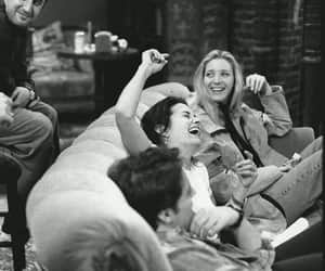 friends, phoebe, and chandler image