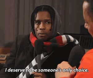 quotes, asap rocky, and gif image