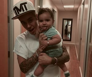 boys, justin, and daddy image