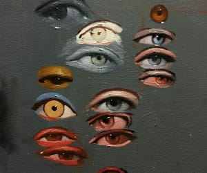 eyes, art, and painting image