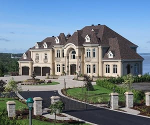 house, mansion, and home image