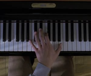 aesthetic, piano, and and image
