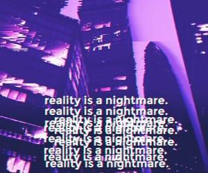 aesthetic, nightmare, and reality image